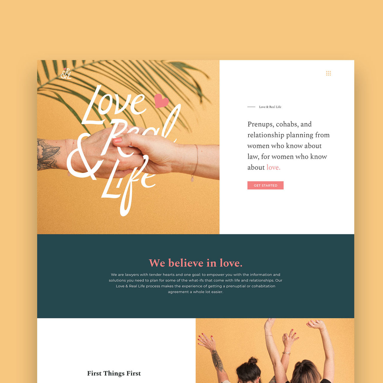 Love & Real Life Website