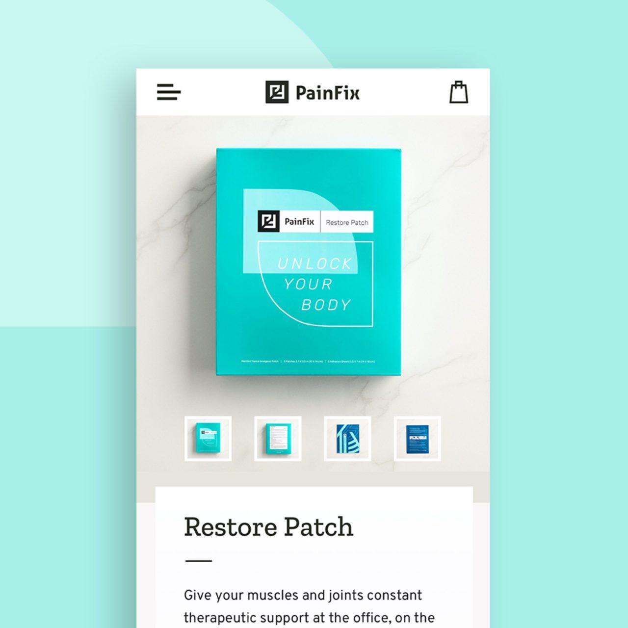 Painfix website